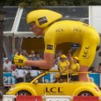 For example,the yellow jersey goes to the rider who is most likely to use drugs to win the entire race.